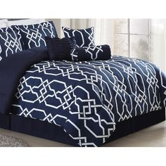Found it at AllModern - Robscott 7 Piece Comforter Set