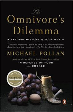 The Omnivore's Dilemma – by Michael Pollan. Good motivation for a whole foods diet, Champ-Blackwell In Defense Of Food, Good Books, Books To Read, Reading Books, Reading Lists, Michael Pollan, James Beard Award, Thing 1, Food System