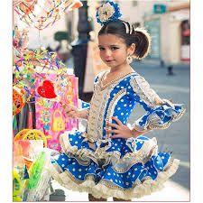 Resultado de imagen de faldas flamencas de niña