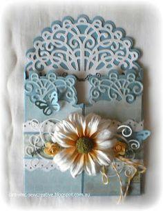 Heartfelt Creations ~Gatefold Card~