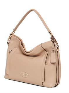 COACH - SCOUT TEXTURED LEATHER HOBO BAG - LUISAVIAROMA - LUXURY SHOPPING WORLDWIDE SHIPPING - FLORENCE