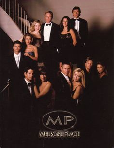 Melrose Place. The male blond in the back is Linden Ashby!
