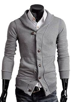 Men's Style: The Williams Cardigan Ash!