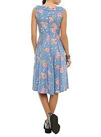 HOTTOPIC.COM - Hell Bunny Floral Polka Dot Darlene Dress...or change into this one after
