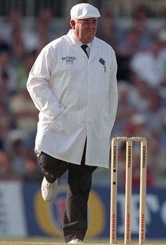"Best Cricket umpires of all time... The Legendary Shep with leg raised on ""Nelson""!"