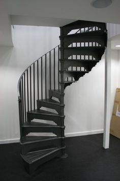 Spiral stair warehouse spiral staircases metal spiral stairs need to kno - Escalier colimacon metal ...