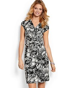 Tommy Bahama - Fiore Blooms Cap-Sleeve Dress