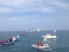 Départ Normandy Channel Race 2015