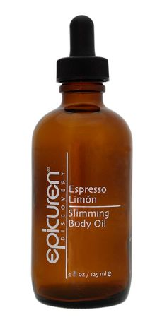 HAVE YOU TRIED...Espresso Limón Slimming Body Oil   for all skin types Epicuren Discovery®'s Espresso Limón Slimming Body Oil is a pure, potent oil that is extremely effective in aiding the body's natural detoxification process. The aromatic Espresso Limón Slimming Body Oil is the perfect solution to achieve a diminished appearance of cellulite and a body that looks and feels slimmer and smoother.