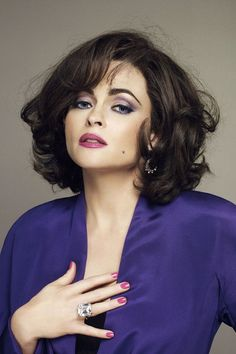Helena Bonham Carter as Elizabeth Taylor in Burton and Taylor. Haven't seen it, but I want to