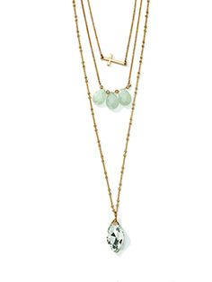 Lovely Layers Necklace by ViVi Jewelry @bevivi.com/jodeehill