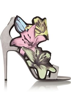 Pierre Hardy heels (could even decorate your home with these...)