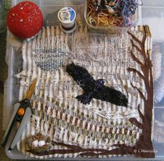 Stitch and weave by Linda Marcille