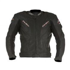 Kurtka RST TracTech black męska skórzana | RST TracTech Leather Jacket Man #Motomoda24