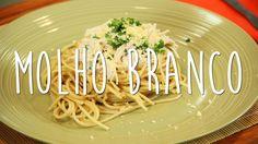 A receita de hoje é um molho branco com frango com ingredientes saudáveis e deliciosos!