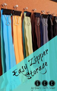 Easy Zipper Storage                                                                                                                                                      More