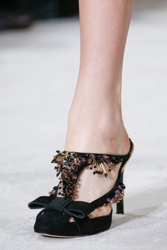 Oscar de la Renta Spring 2016 Ready-to-Wear Accessories #shoes #nyfw