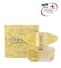 Versace Yellow Diamond 50 ML Beauty Women, Versace, Perfume Bottles, Yellow, Diamond, Perfume Bottle, Diamonds