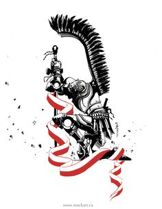 husaria polska patriotyczny tatuaz