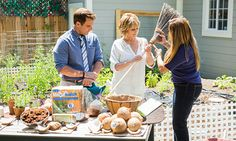 @edenmakersblog has tips on how to incorporate #coconuts into your garden! #homeandfamily #homeandfamilytv #gardening #organic #organicgardening