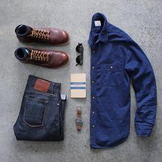 combo, masculino, inspiração, moda, estilo, outfit grid