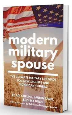 I just finished this book and can't say enough great things about it! If you are looking for a military spouse book look no further! Written by experienced and normal spouses, this book has a wealth of information!