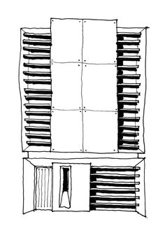 Hill Top House sketch scheme - Adrian James Architects, Oxford