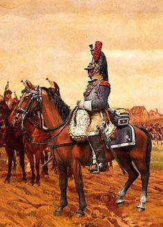 Corazziere del 7 rgt. corazzieri francesi