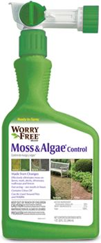 Lilly Miller Worry Free Moss and Algae Control Ready to Spray, Moss Lawn, Citrus Oil, Lawn And Garden, Spray Bottle, Good To Know, No Worries, Helpful Hints, Free, Gardening