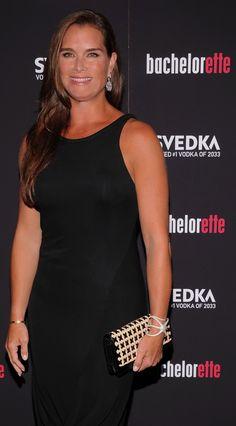 Brooke Shields wearing India Hicks Fine jewelry.