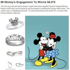 Disney Engagement Rings - Which one is for you?