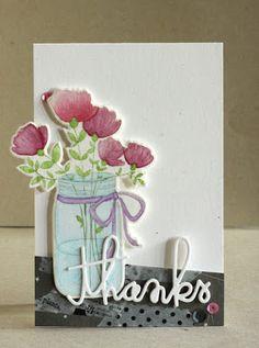 Alice's {Little} Wonderland: Mason Jar of Flowers