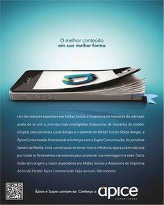 Ápice Comunicação e Supra anunciam fusão - Engeplus Telecom