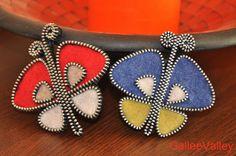 Butterflies brooch