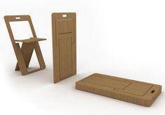 SheetSeat : The Super Flat Folding Chair