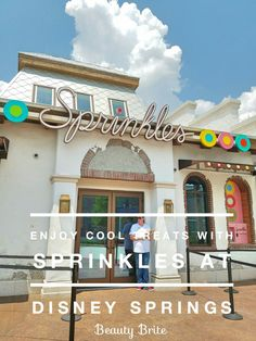 Enjoy Cool Treats With Sprinkles At Disney Springs #disney #travel #travelblogger #tblogger #food