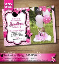 HUGE SELECTION Pink Polka Dot Minnie Mouse por ThePrintableOccasion