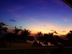Beautiful sunset @ dushi Curacao