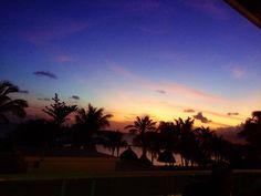 Beautiful sunset @ dushi Curacao