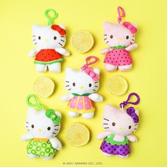 Hello Kitty Accessories, Hello Kitty Wallpaper, Sanrio Hello Kitty, Pin And Patches, I Got This, Berries, Plush, Kawaii, Make It Yourself