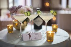 The Harlequinade - martini served in crystal coupes Event Ideas, Martini, Our Wedding, Couture, Table Decorations, Crystals, Home Decor, Kitchens, High Fashion