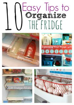 Organizando a geladeira? Organized Fridge, Spring Cleaning, Tips to Organize the fridge Do It Yourself Organization, Fridge Organization, Organization Station, Household Organization, Organizing Your Home, Storage Organization, Organized Fridge, Organizing Tips, Fridge Storage