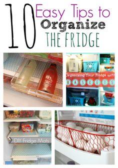 10 Easty Tips to Organize The Fridge