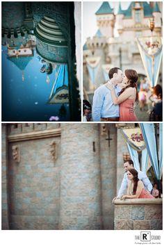 Ashley & Steve's Disney E-Sesh | California Engagement Photographer | The R2 Studio | Disneyland Engagement Session