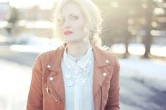 "Beautiful pic! Nicolina from ""Neonsystrarna"" is wearing a stylish We Style-necklace."