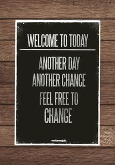 Welcome to Today!