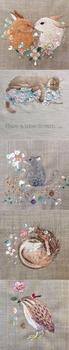 Волшебный мир вышивки