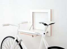SLIT is to what you want! Restrained and elegant slit to fit into your home and is also a stable and intelligent wall mount for your bike