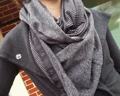 Pique vinyasa scarf-If it wasnt so freaking expensive for just a scarf Id have like 9 of them!