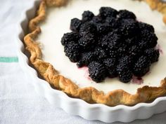 ++ blackberry buttermilk pie